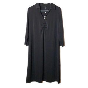 Womens Talbots 1X collar dress